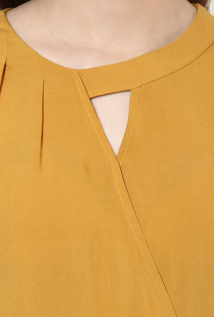 Avirate Ochre Solid Top