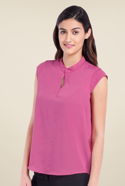 Avirate Fuchsia Solid Top
