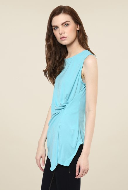 Avirate Turquoise Solid Top