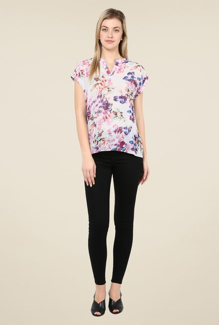 Avirate Multicolor Floral Printed Top