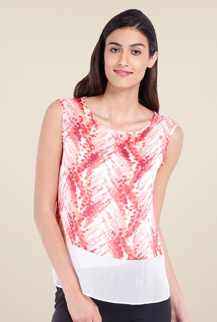 Avirate Pink Printed Top