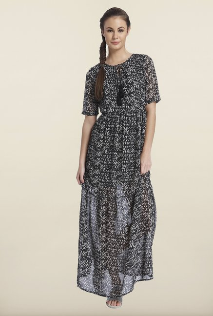 Only Black Printed Maxi Dress