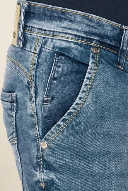 Mufti Blue Low Rise Jeans