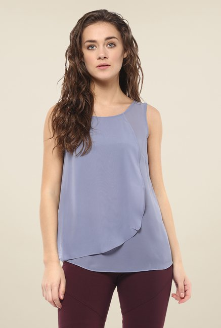 Avirate Echo Blue Solid Top