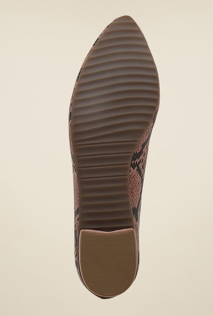 La Briza Brown Leather Shoe