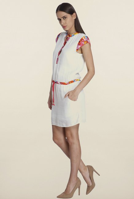 Vero Moda White Shift Dress