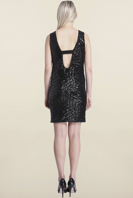Vero Moda Black A Line Dress