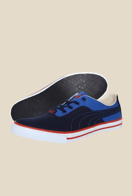 Puma Slyde Peacoat Strong Blue Sneakers