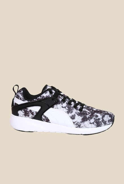 Puma Aril Blaze Variation Wn's Black & White Sneakers
