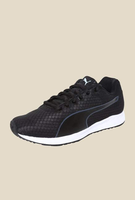 Puma Burst Wns Black & White Running Shoes