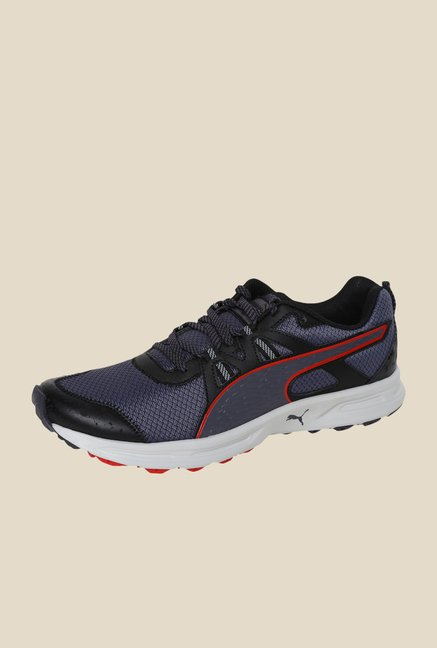 Puma Descendant TR Black & Periscope Running Shoes