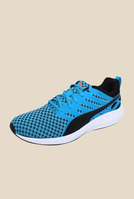 Puma Flare Atomic Blue & Black Running Shoes