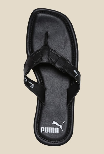 Puma Drifter Road IV DP Black & Silver Slippers