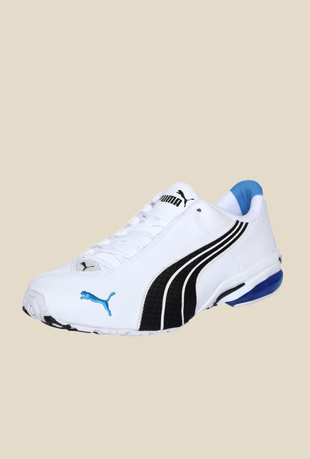 412311f017c20b Buy Puma Jago Ripstop II DP White   Black Running Shoes Online at ...