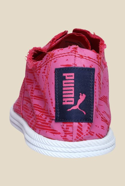 Puma Streetsala Wns Graphics DP Rose Red & Pink Sneakers