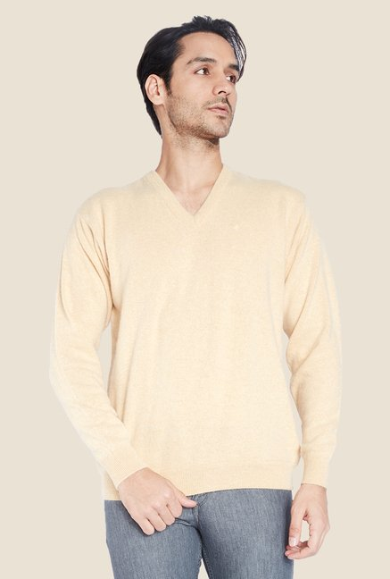 Raymond Peach Solid Sweater