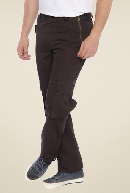 Parx Brown Solid Cargos