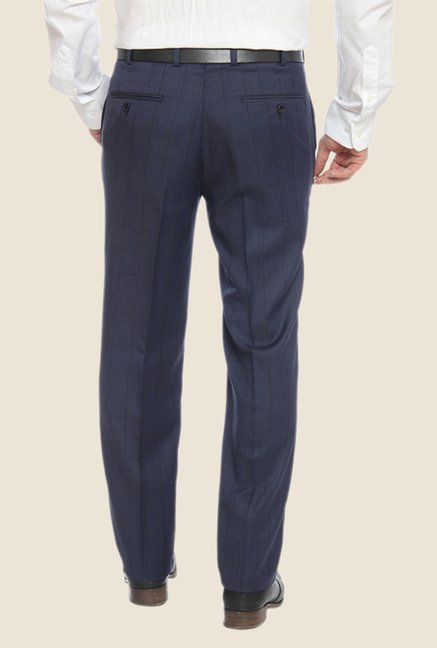 Raymond Grey Striped Trouser