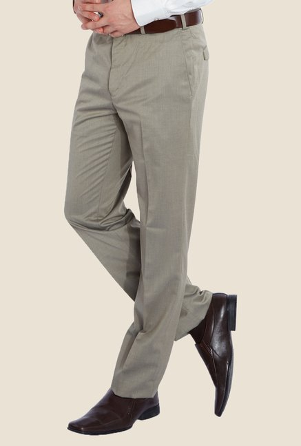 Raymond Green Solid Trouser