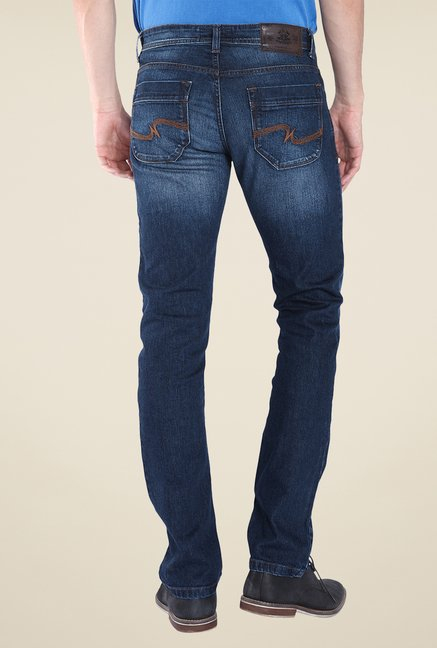 Parx Blue Lightly Washed Jeans