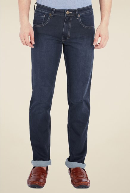 Park Avenue Blue Rinse Washed Jeans