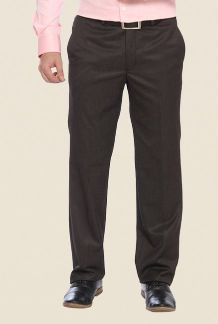 Raymond Brown Solid Trouser