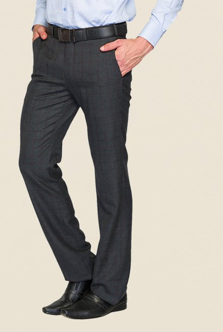 Raymond Grey Checks Trouser