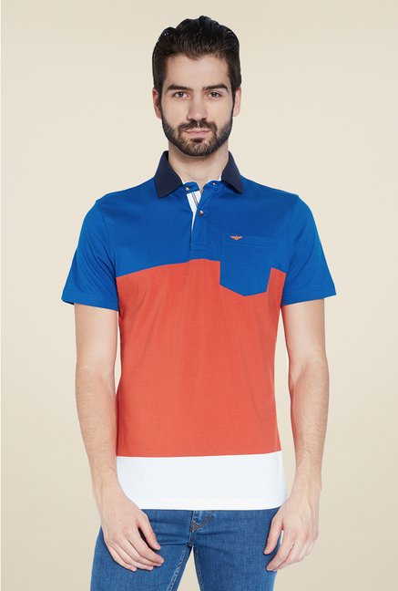 Park Avenue Orange Polo T Shirt