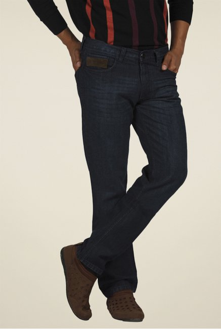 Park Avenue Navy Raw Denim Jeans