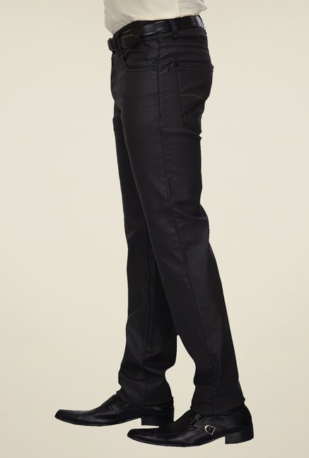 Parx Black Raw Denim Jeans