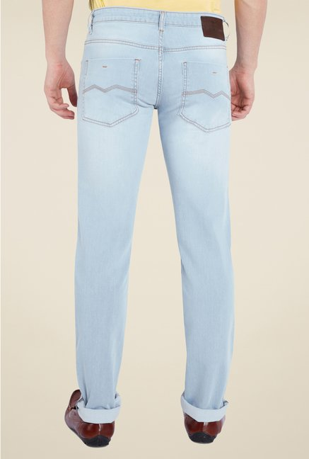 Park Avenue Light Blue Raw Denim Jeans