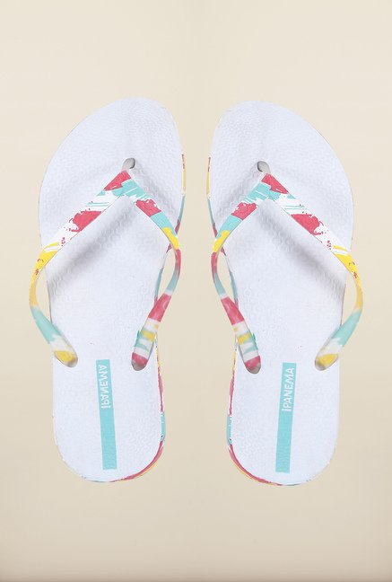 Ipanema Multicolor Thong Flip Flops