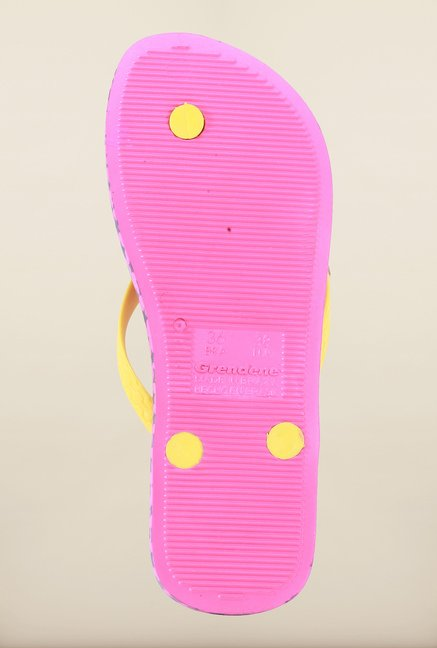 Ipanema Yellow & Pink Flip Flops