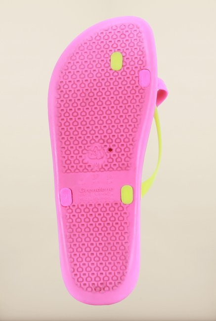 Ipanema Pink & Yellow Flip Flops
