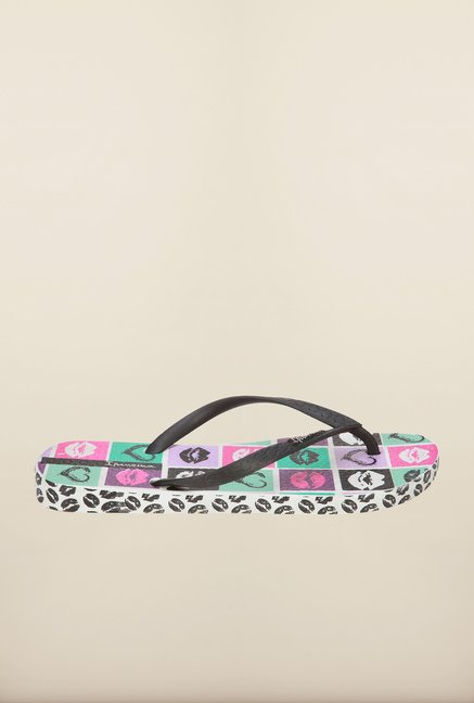 Ipanema Black & White Flip Flops