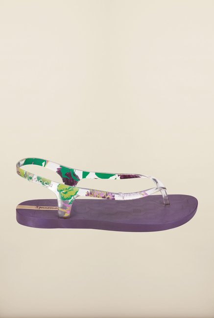 Ipanema Purple Back Strap Sandals
