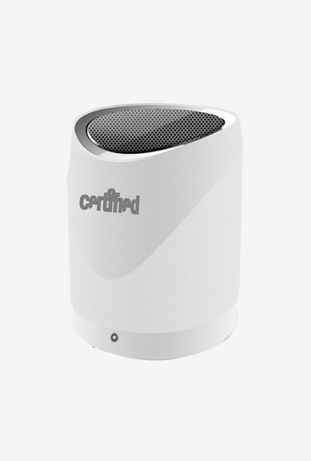 Certified SPBT200W Mini Portable Bluetooth Speaker (White)