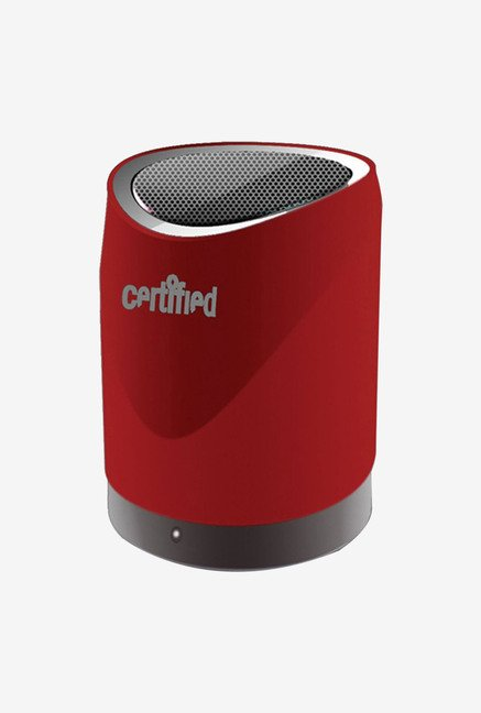 Certified USA Spbt200R Mini Portable Speaker (Red)