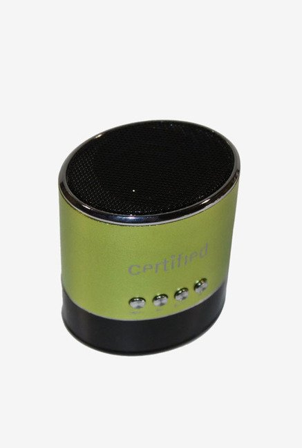 Certified Mini Portable Speaker (Green)