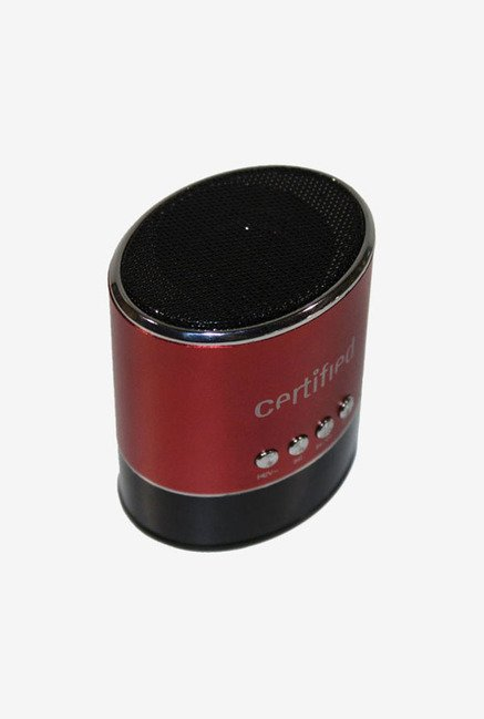 Certified Mini Portable Speaker (Red)
