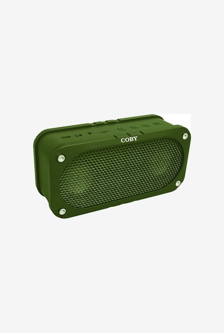 Coby CSBT-302-GRN Bluetooth Speaker (Green)