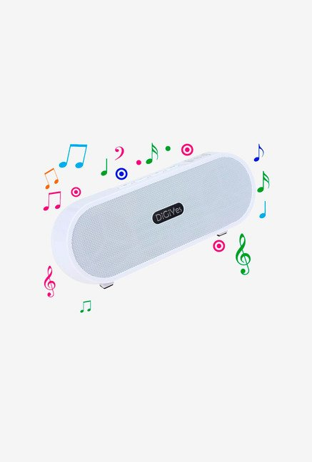 Digiyes 719PMPW Portable Bluetooth Speaker (White)