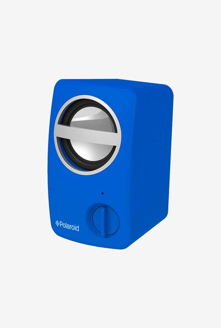 Polaroid PBT501BL Universal Bluetooth Mini Speaker (Blue)