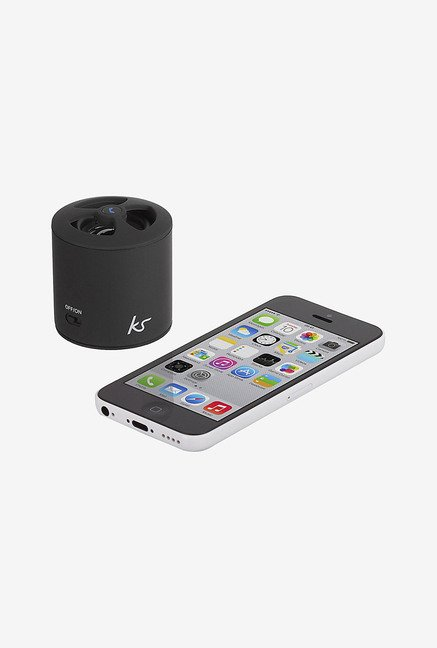 Kitsound Pocketboom Bluetooth Portable Speaker (Black)