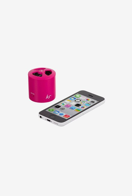 Kitsound Pocketboom Bluetooth Portable Speaker (Pink)