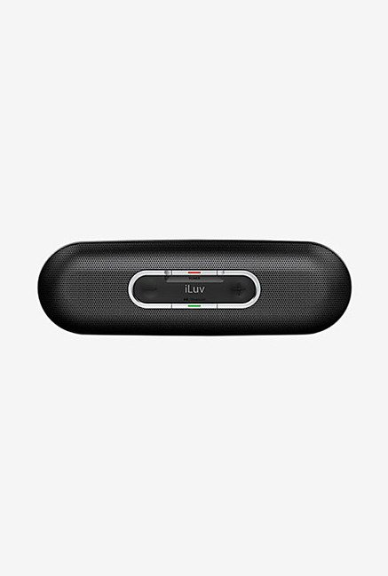 Iluv Rollick Portable Bluetooth Stereo Speaker (Black)