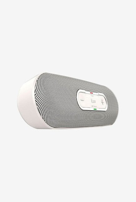 Iluv Rollick Portable Bluetooth Stereo Speaker (White)