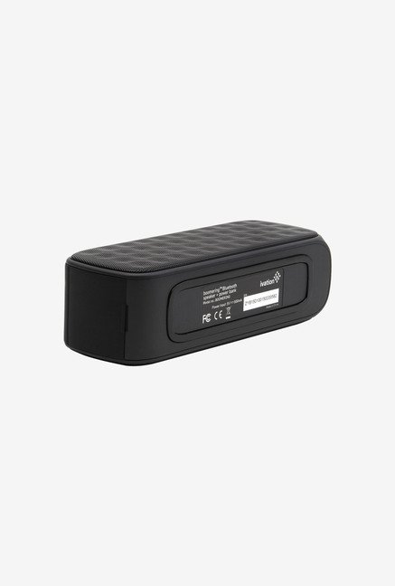 Ivation IVABOOMRING Bluetooth Speaker (Black)