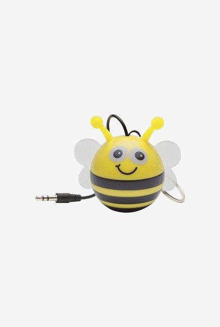 KitSound KSNMBBEE Mini Buddy Bee Universal Speaker (Yellow)
