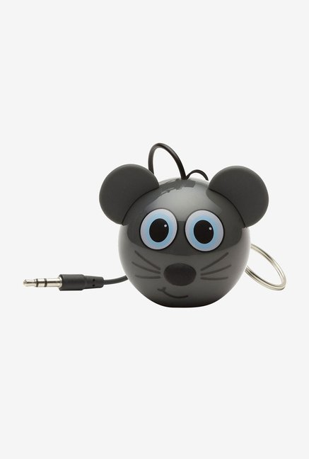 KitSound KSNMBMSE Mini Buddy Mouse Universal Speaker (Grey)